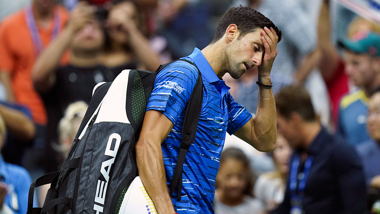 Defending Champion Novak Djokovic Retires From U S Open Sportsnet Ca