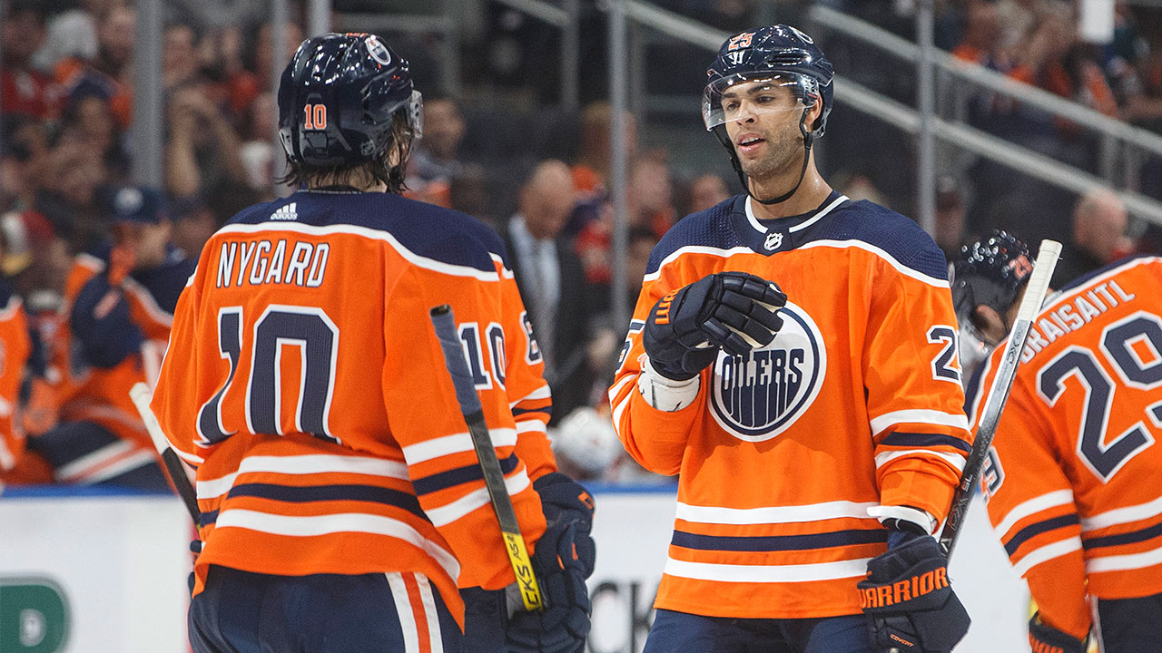 Pinning down Oilers' opening night blue-line still a work in progress