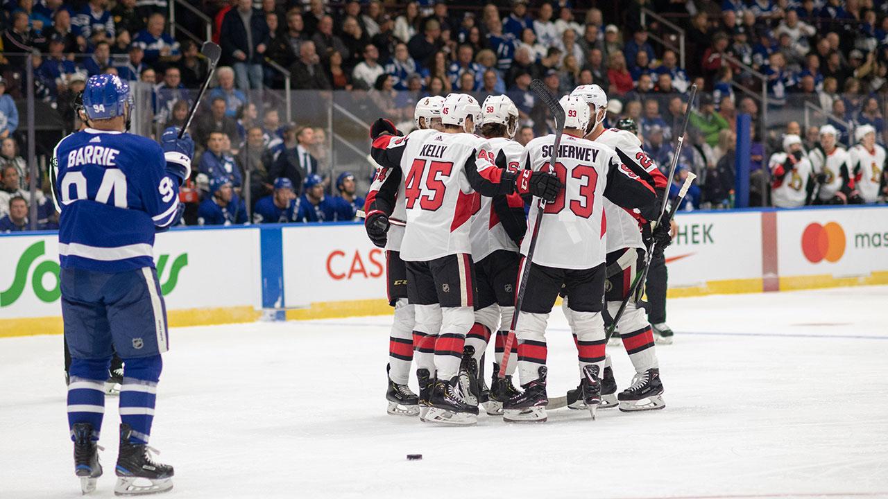 Scherwey gets winner as Senators top Maple Leafs in pre-season opener