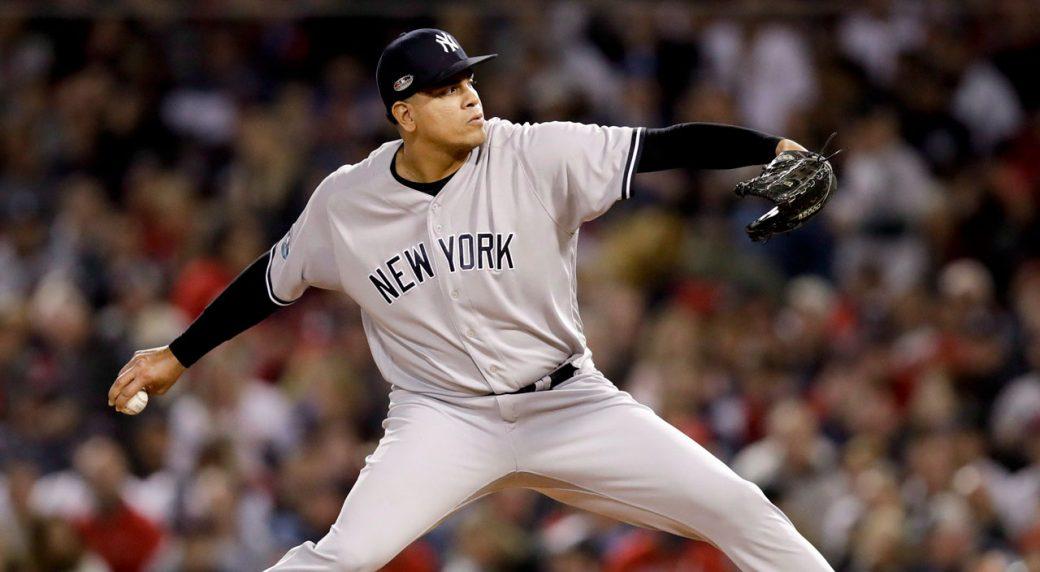 Yankees RHP Dellin Betances (Achilles) out for season