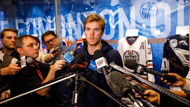 oilers-connor-mcdavid-speaks-to-media-at-training-camp