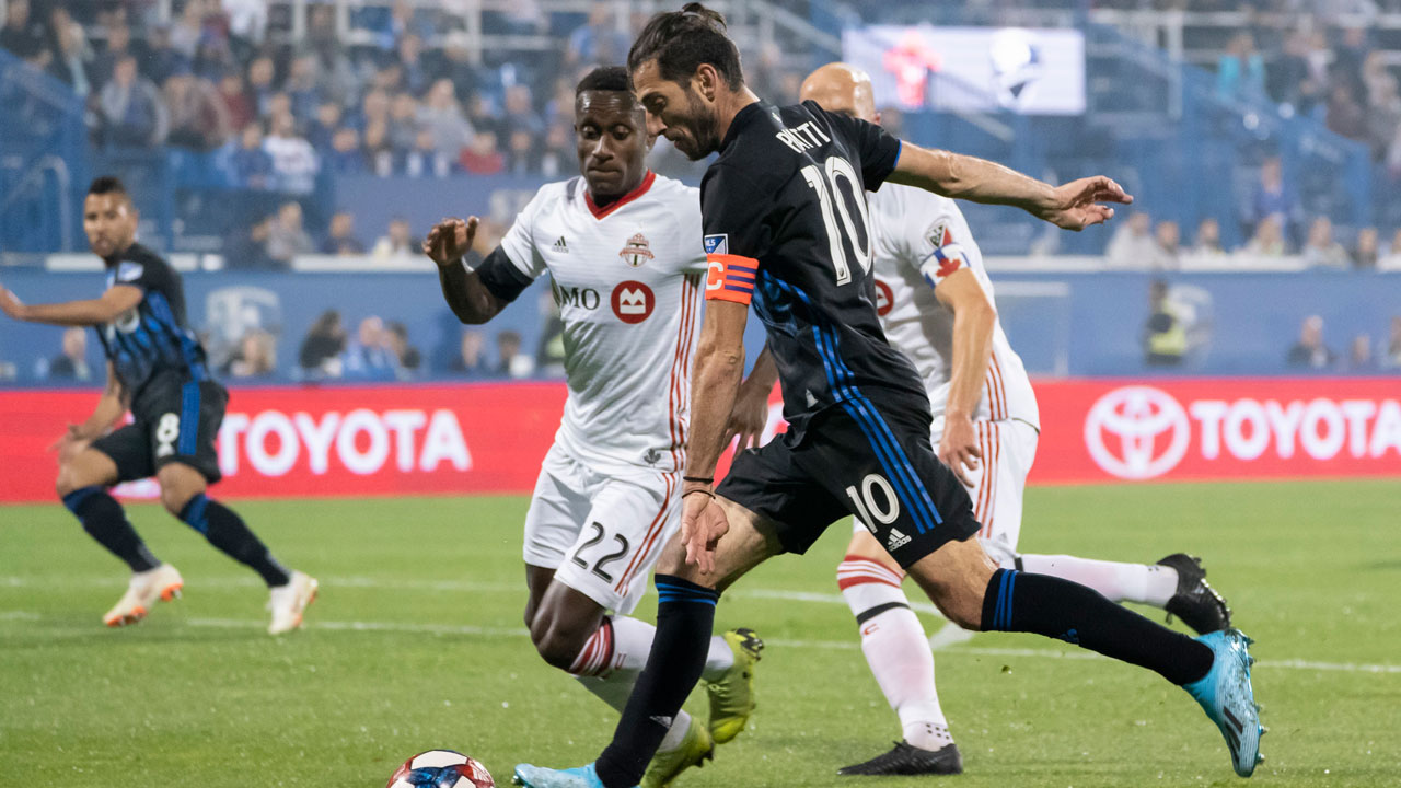 Piatti lifts Impact over Toronto FC in first leg of Canadian Championship