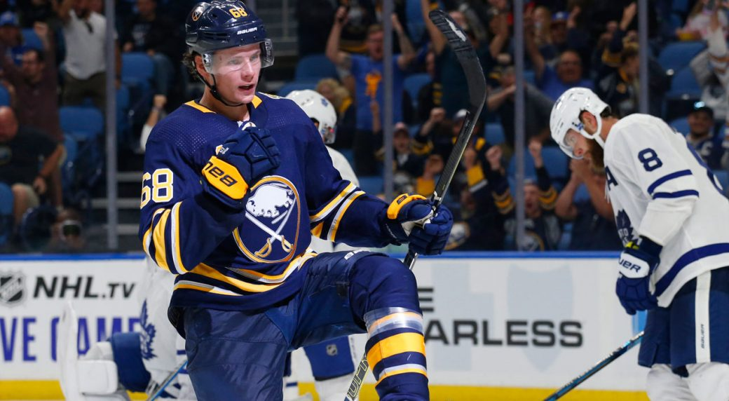 Sabres and Olofsson avoid arbitration, sign forward to two-year deal