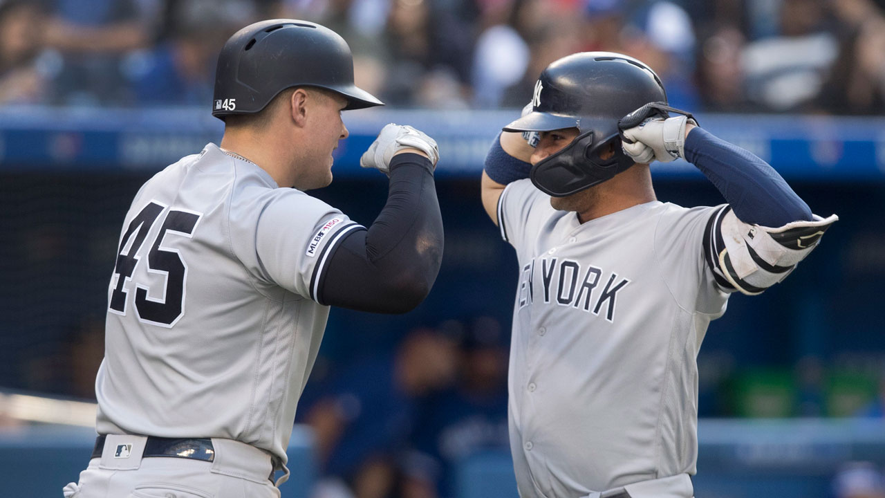 Blue Jays' lack of plate discipline shows vs. Yankees' all-around mastery