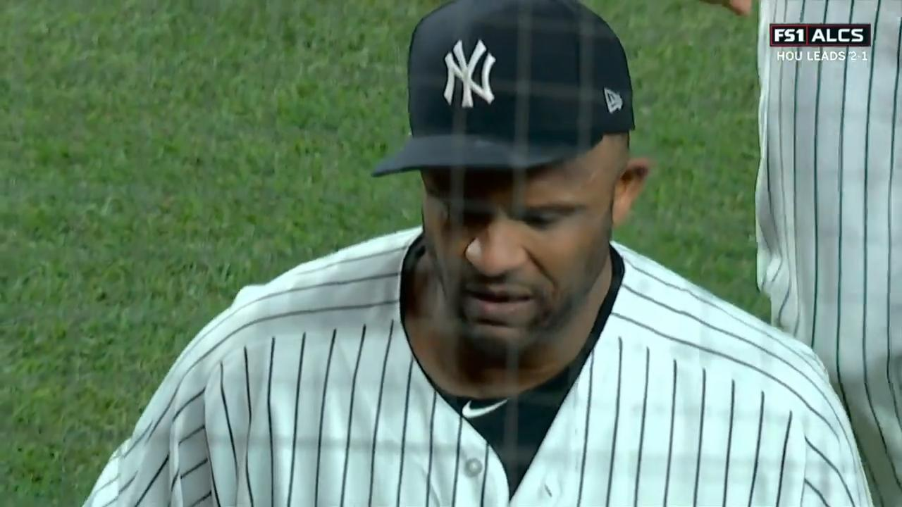 Yankees' CC Sabathia exits to cheers after likely final pitch