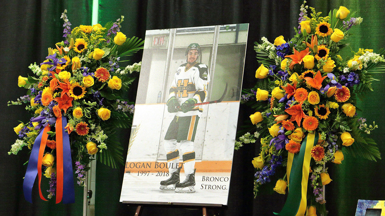 Great tribute as Lethbridge renames the Logan Boulet Arena