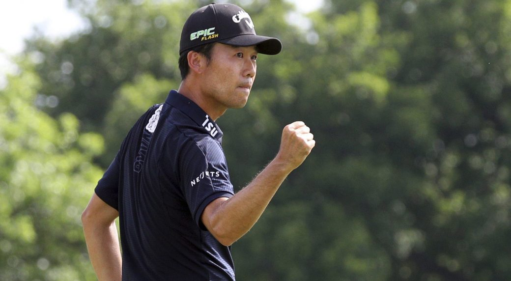 Kevin Na survives mistakes to win in Las Vegas