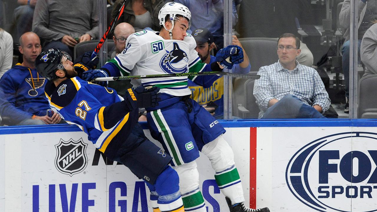 Canucks' identity shaken with heavy-hockey contingent injured