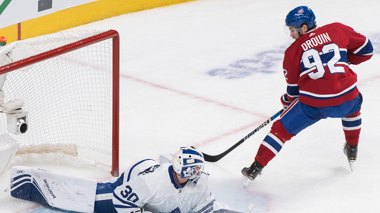 Habs get three in the third to top the Leafs in Montreal