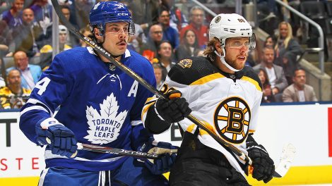 Auston-Matthews;-Toronto-Maple-Leafs;-Boston-Bruins;-David-Pastrnak