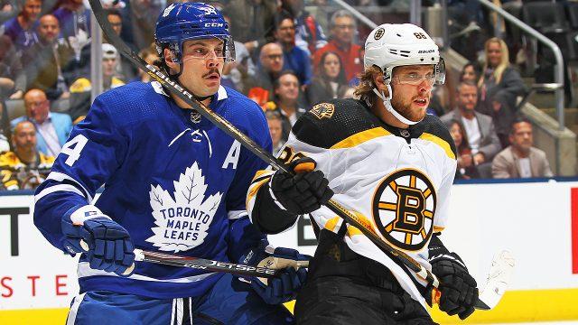 Auston-Matthews;-Toronto-Maple-Leafs;-Boston-Bruins;-David-Pastrnak