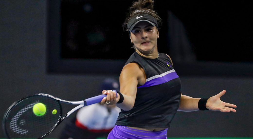 I'm still here! - Osaka halts US Open champ Andreescu in China