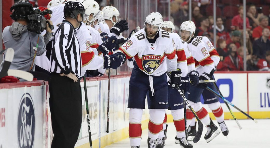 Panthers rally to keep Devils winless