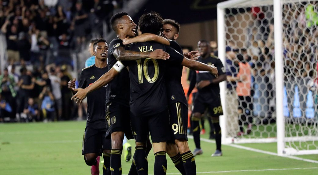 LAFC hold on for conference semifinal win over Galaxy