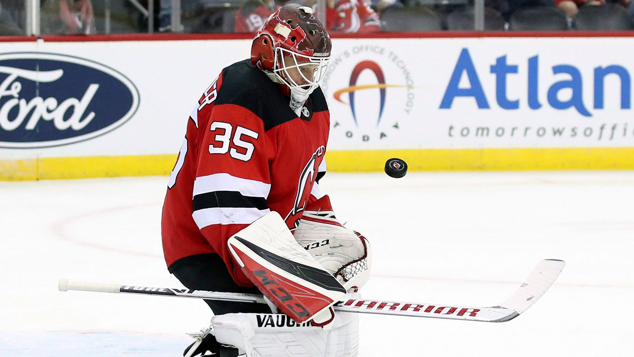 It's good to see Cory Schneider back in the NHL after a stint in the minors