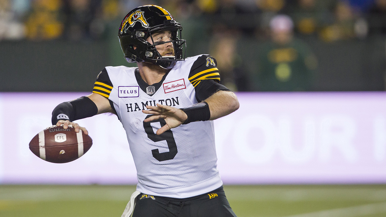 Two Tiger-Cats among CFL's top performers for Week 19