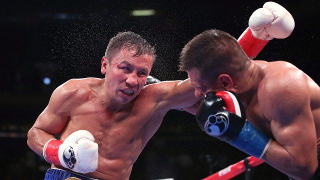 Gennadiy-Golovkin-Sergiy-Derevyanchenko-exchange-punches