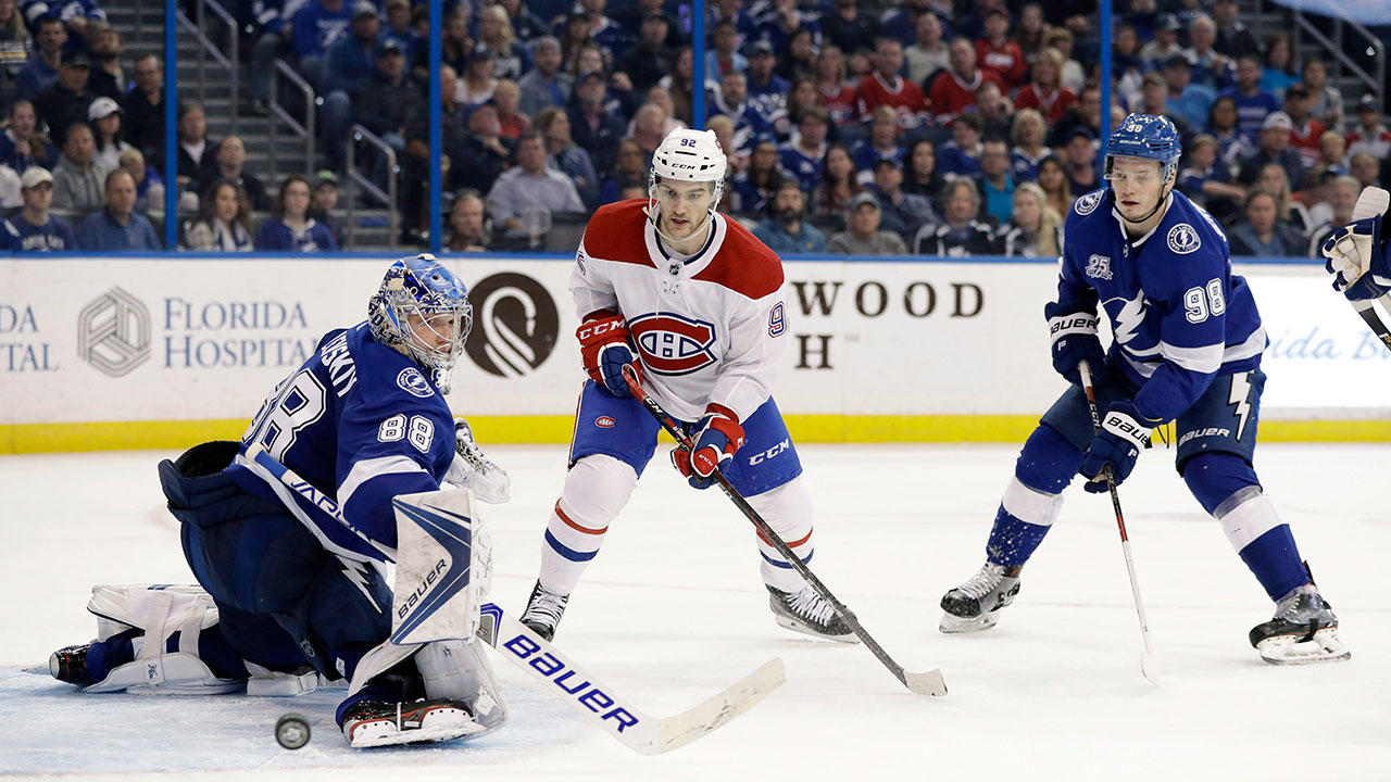 Drouin, Sergachev still searching for consistency two years after trade