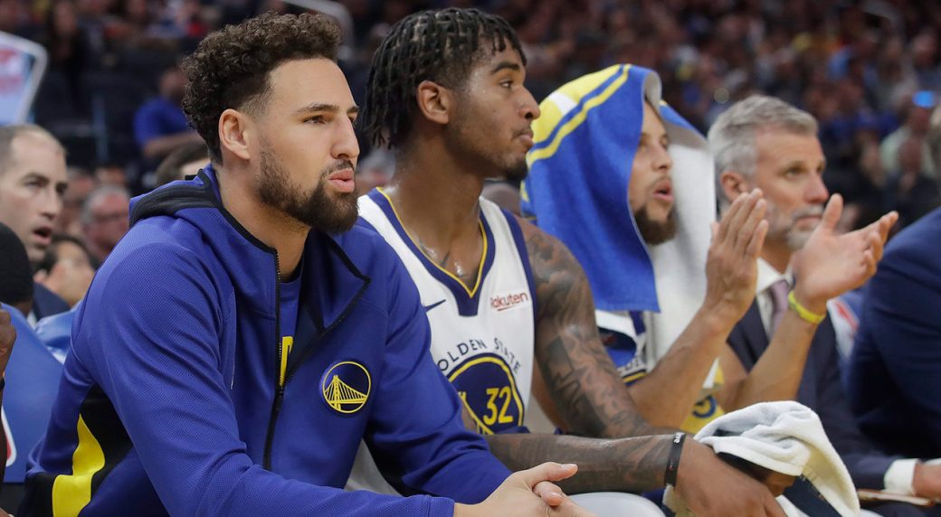Klay Thompson unlikely to play this season, Steve Kerr says