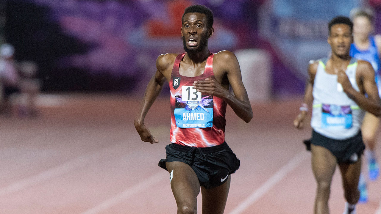 Canada's Mohammed Ahmed breaks own 10K national record at worlds