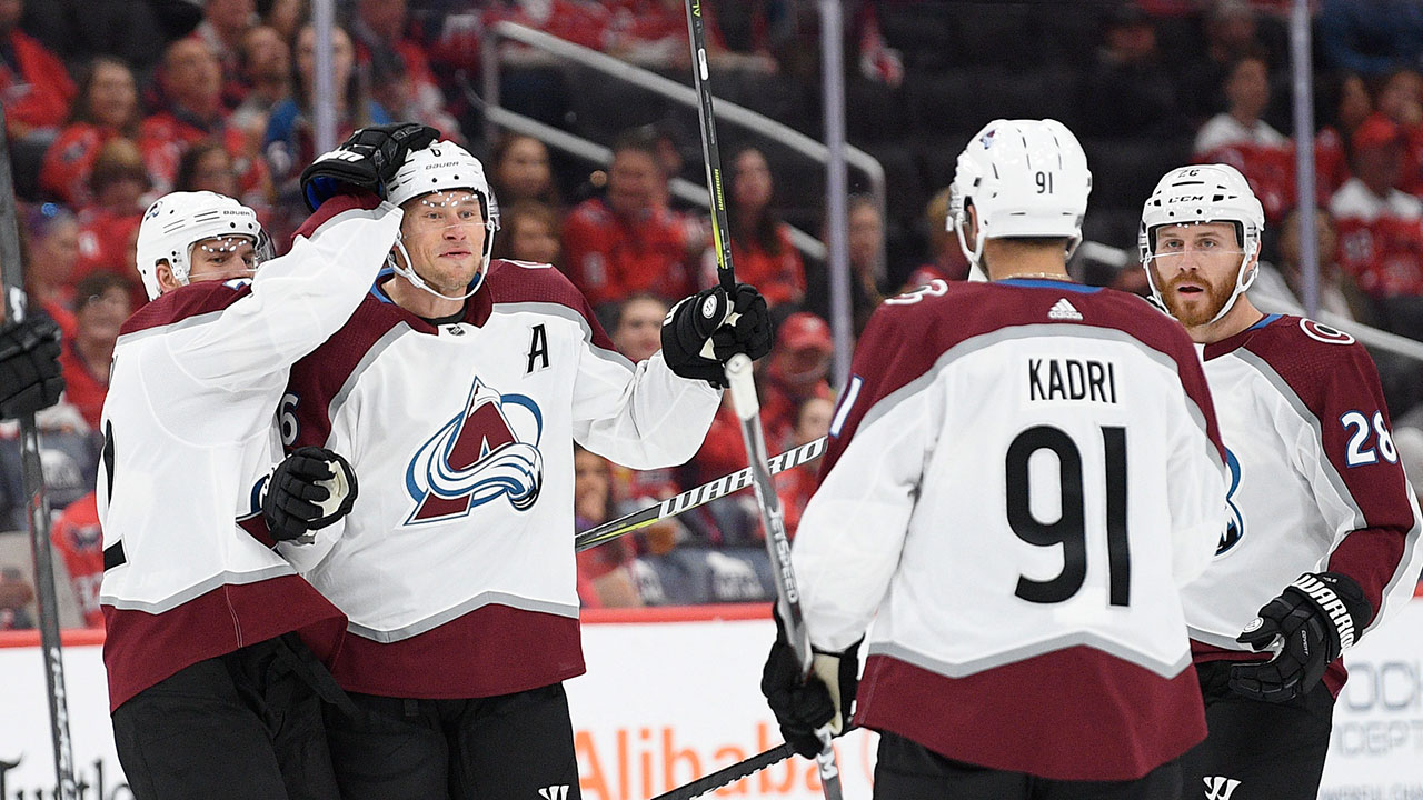 Avs' keep their winning ways rolling on the road