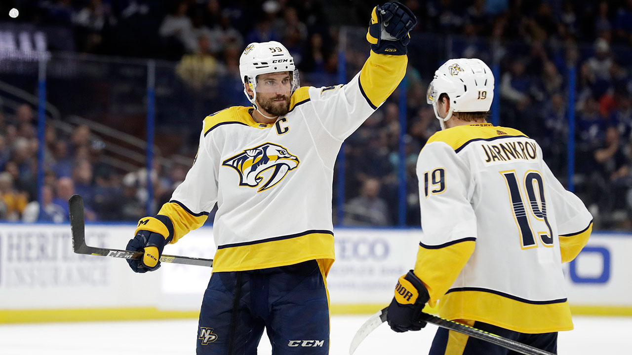 Roman Josi picks up the Norris Trophy as NHL's top defenceman
