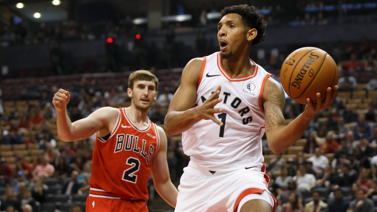 Raptors waive Payne, Morgan, Robinson to bring roster to 17