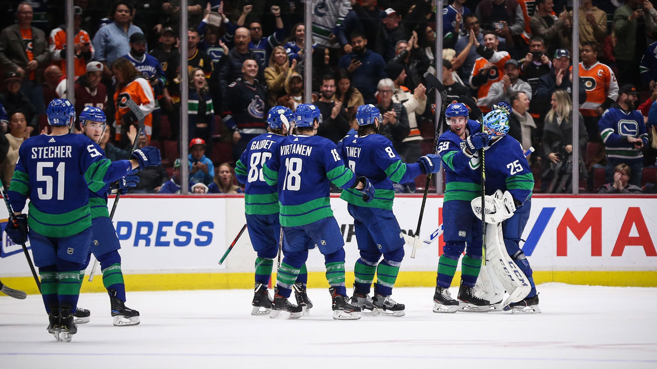 New-look Canucks finding ways to win that they didn't last season