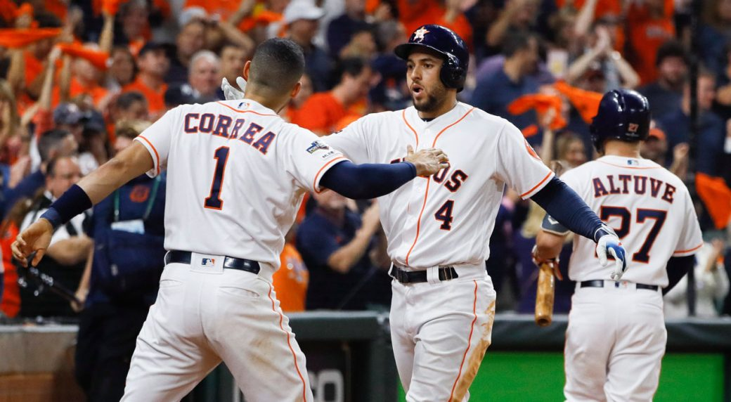 Astros Game >> Correa S Walk Off Home Run Gives Astros Win Over Yankees In