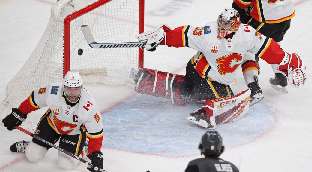 Flames remain luckless in Vegas as Golden Knights snap 2-game skid