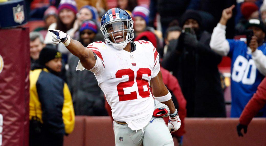 giants-saquon-barkley-celebrates-touchdown
