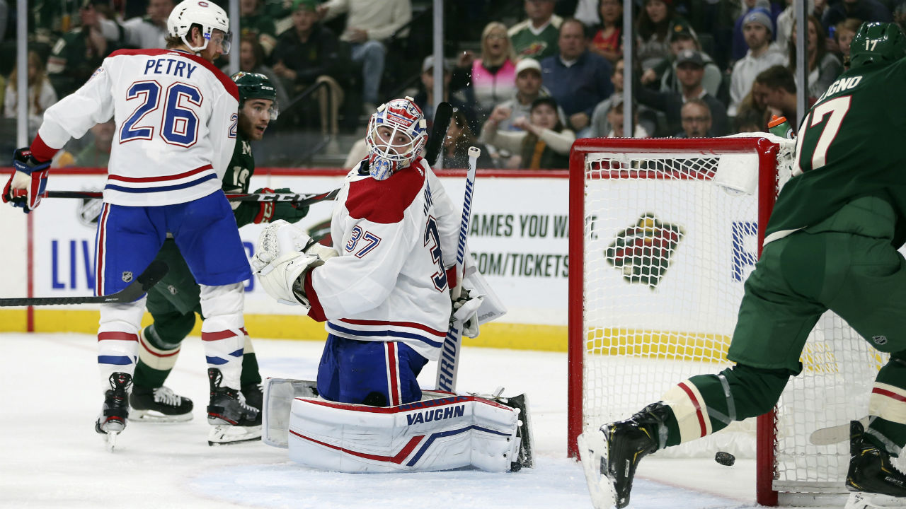 Bad penalties, penalty kill hurt tired Canadiens in Wild loss