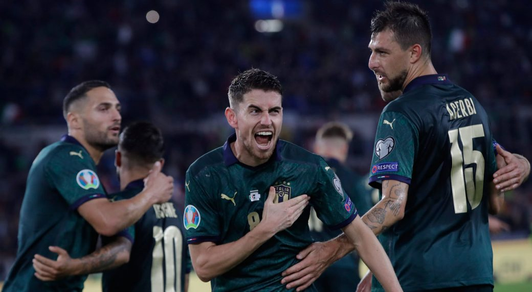 Italy clinch place at Euro 2020