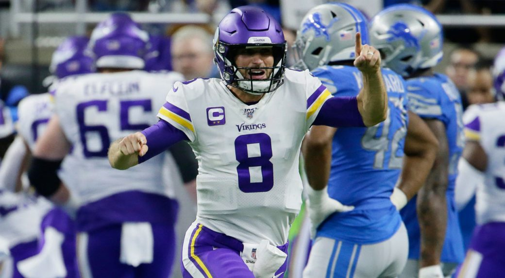 Vikings ink Cousins to 2-year extension worth reported $66M