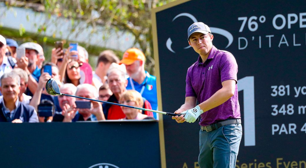 Matthew Fitzpatrick maintains one-shot Italian Open lead