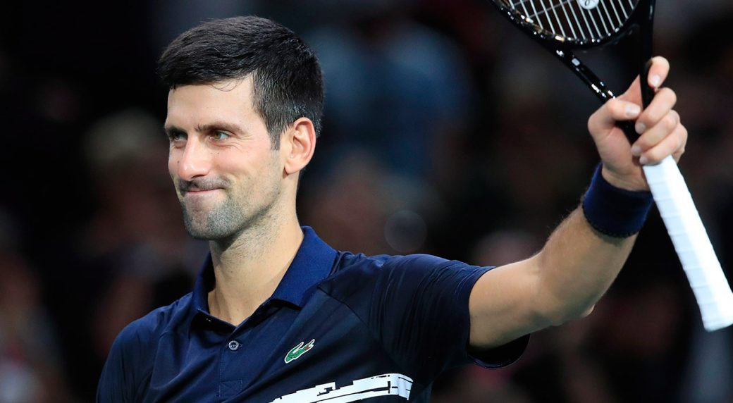 Novak Djokovic into Paris Masters final after beating Grigor Dimitrov