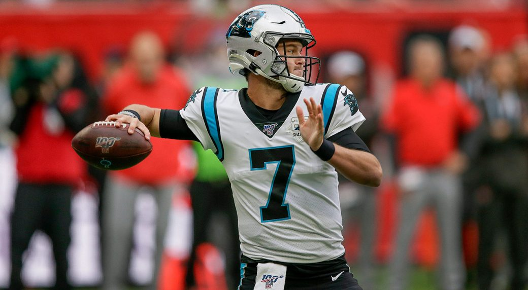 panthers-kyle-allen-throws-against-panthers
