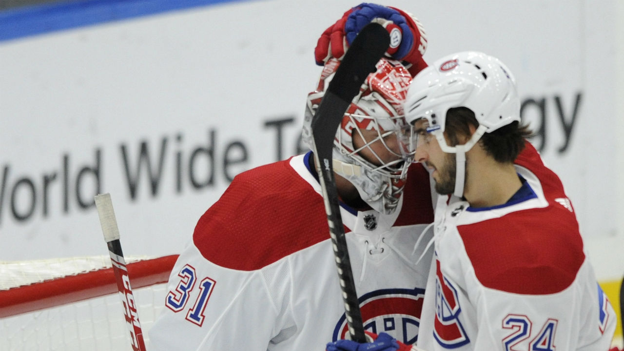 Goin' deep. Habs see 11 players record a point in a big win over the Blues
