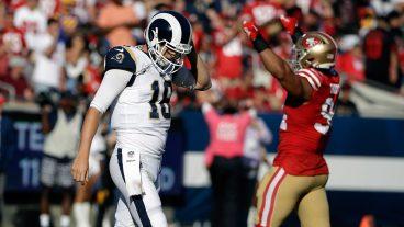 rams-quarterback-jared-goff-walks-off-field-against-49ers