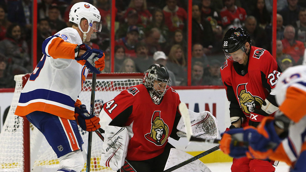 Steady Leddy leads the Islanders over struggling Sens