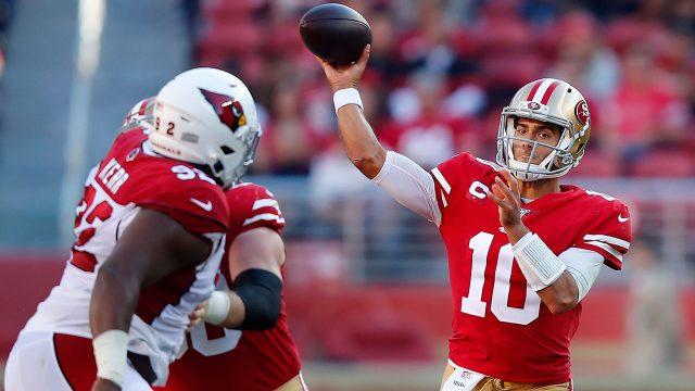 49ers-cardinals-garoppolo-throws-pass