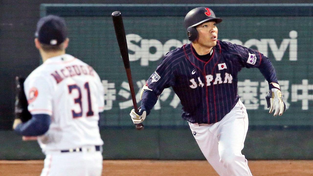 Blue Jays could potentially target Japanese hitters Tsutsugo, Akiyama