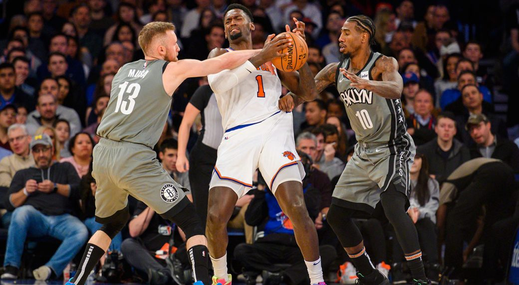 Dinwiddie scores 30, leads Nets over Knicks 103-101