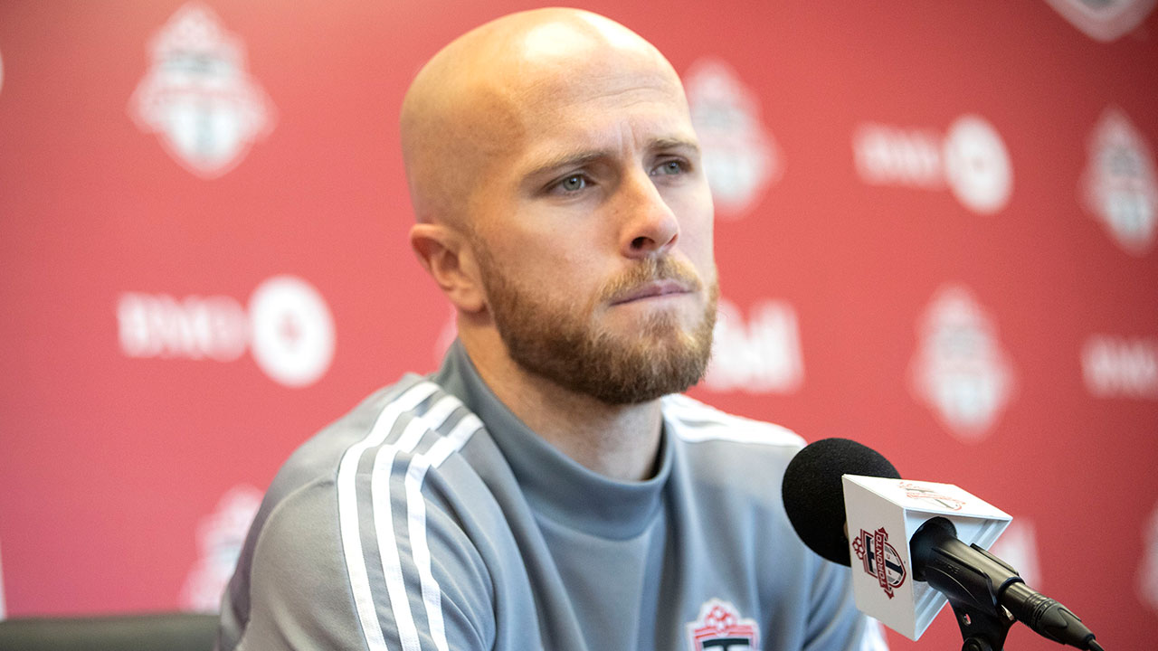 Toronto FC's Michael Bradley could be out four months after ankle surgery