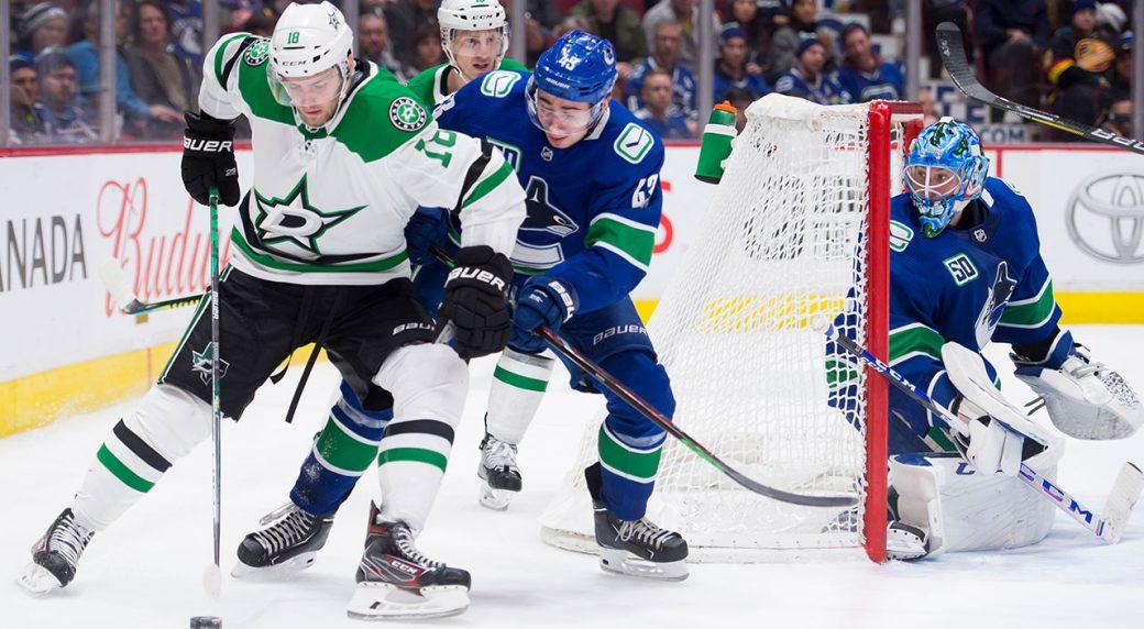 Seguin leads Stars to 4-2 win over Canucks