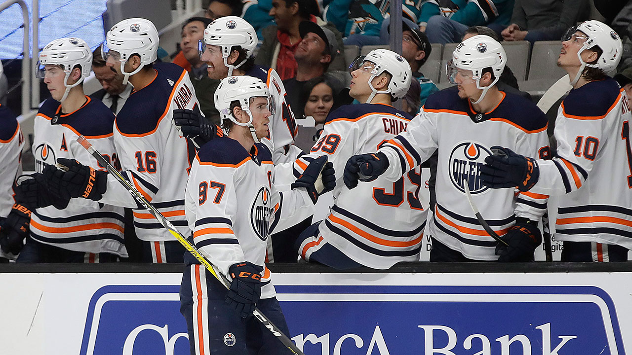 McDavid ends Sharks six game feeding frenzy