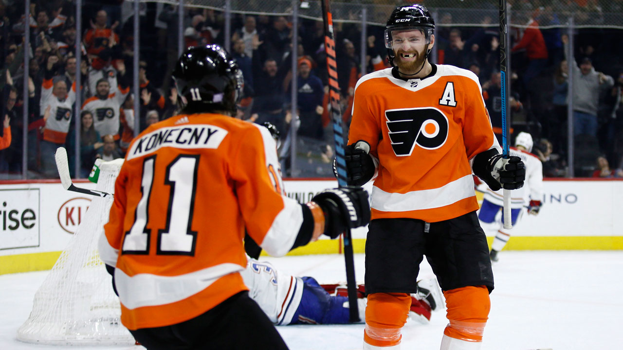 Flyers pull off O.T. win despite stellar performance by Price