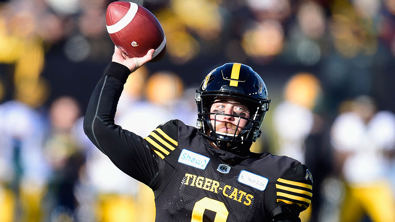 Tiger-Cats down Eskimos in East Final to advance to 107th Grey Cup