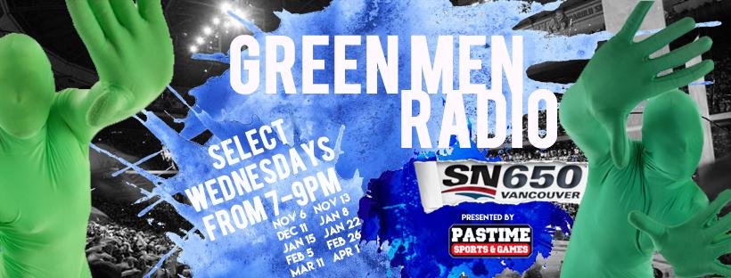 Greenmen Radio Logo Image
