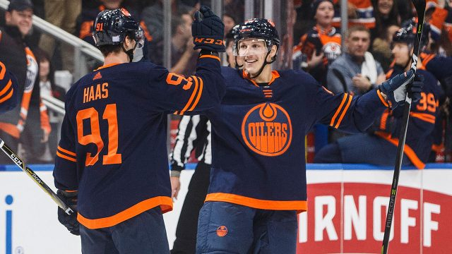 Edmonton-Oilers-Gaetan-Haas-Matt-Benning
